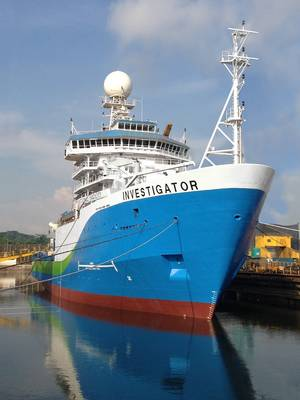 Australia's new research vessel, Investigator