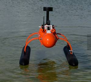 Unmanned Boat: Image courtesy of NjordWorks