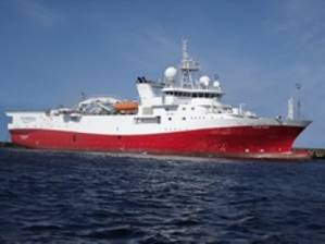 MV Polar Duke: Photo credit Dolphin Geophysical