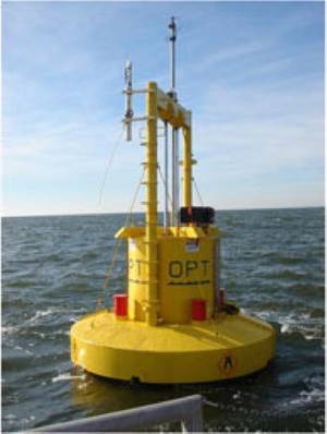 Power Buoy: Photo courtesy of OPT