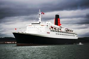 QE2: Photo credit Wikimedia CCL