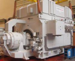 Converteam's 36 MW generator ready for shipment