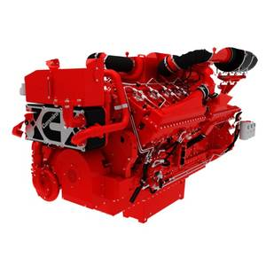 QSK50 marine engine (Photo courtesy of Cummins)