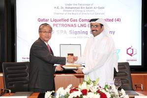 LNG SPA signing: Photo credit Qatargas