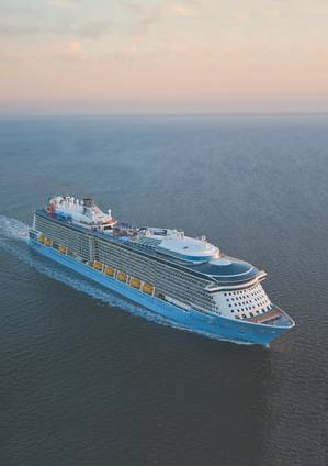 The 167,800 gt Quantum of the Seas. (Photo: RCL)