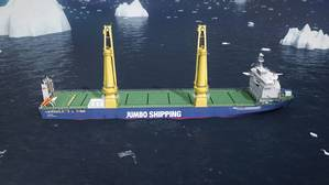 New K-3000 Heavy Lift Carriers for Jumbo Shipping (PHOTO CREDIT: Jumbo Shipping)