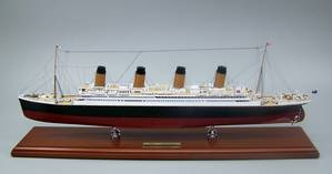 Museum Quality Titantic Model: Photo credit SD Model Makers