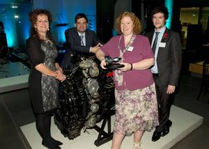 Science prize presentation: Photo credit Rolls-Royce