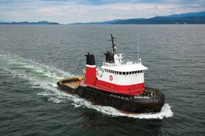 Seaspan Marine has converted Royal's stern tubes to RSC Bio Solutions' EnviroLogic EAL. Photo credit: Seaspan Marine