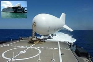 Aerostar Tethered Aerostat System: Photo credit Raven Industries