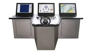 Integrated Bridge & Navigation: Image courtesy of Raytheon