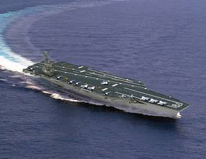 Artists rendering of CVN 78