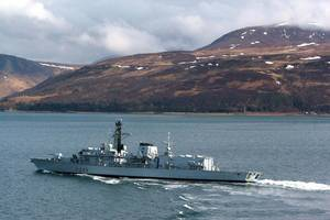 HMS Richmond (Photo: MOD)