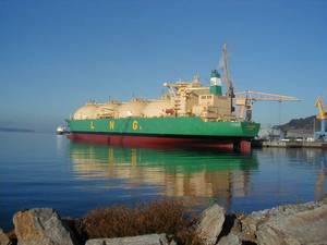 Bonny Gas Transport-owned, 79,822 DWT 'LNG SOKOTO'