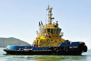 Tug SMIT Pareci: Photo Robert Allan