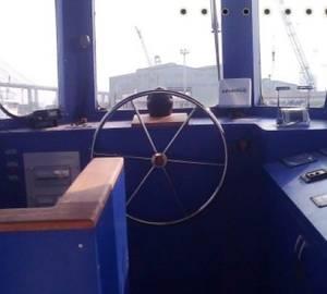 Wheelhouse tugboat Taabya.on: Photo credit Roys Maritime