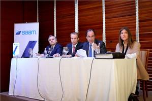 SAAM, multinational company that provides port, towage and logistics services in 15 countries in Latin America, held a Shareholders' Meeting, Photo credit Saam