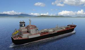 Artists rendering of SEA-Vista commercial product tanker (Image: General Dynamic NASSCO)
