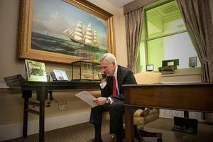 Secretary of the Navy Ray Mabus: Photo credit USN