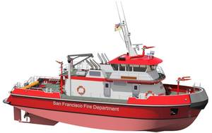 The super pumper fireboat is to enhance San Francisco's marine fire fighting and response capabilities on water including high-volume water pumping, firefighting, rescue, emergency medical service and patrol in the waters of San Francisco and San Pablo Bays and the Pacific Ocean within five miles of shore and the adjoining inland waterways.