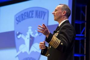 Adm. Jonathan Greenert at SNA Symposium: Photo credit USN