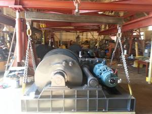 S Series Barge Haul winch