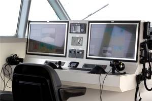 SYNTACS installation aboard CMN's new patrol boats. Photo Raytheon Anschütz