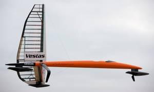 Vestas Sailrocket 2: Image credit Vestas