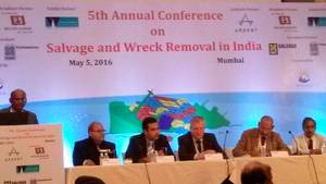 Salvage & Wreck Removal Conference Session in progress Photo JRF