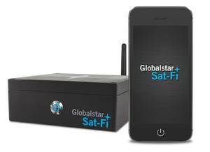 Smartphone & Sat-Fi unit: Image Globalstar
