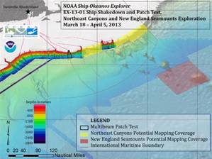 Shakedown & Patch Test 2013: Image credit NOAA