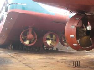 Steerprop Propulsion Units:Photo courtesy of Steerprop
