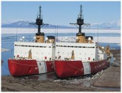 USCG Icebreakers:Photo credit USCG