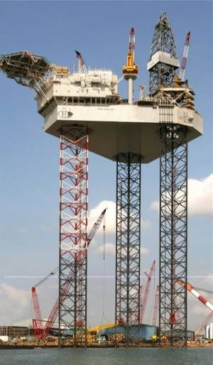 A Sembcorp  Pacific-class rig: Photo courtesy of the shipyard