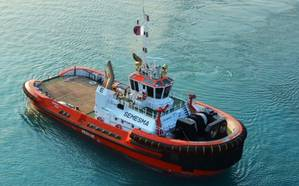 Tugboat Semesma: Image courtesy NDSQ