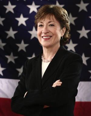 Official photo of Senator Susan Collins