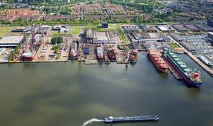 Shipdock Amsterdam (Photo courtesy of Damen)