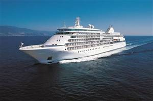 Silver Shadow: Photo courtesy of Silversea Cruises