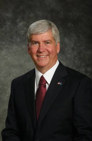 Michigan Governor Rick Snyder (Official Portrait)