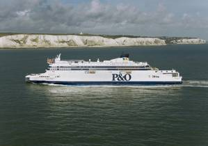Photo courtesy of P&O Ferries