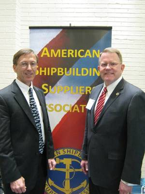 Sec. Stackley and ASSAs Rick Hepburn