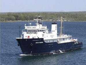Great Lakes Maritime Academy training vessel, T/S State of Michigan.