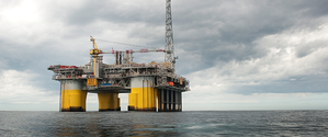 A STatoil rig in the North Sea (Photo courtesy of Statoil)