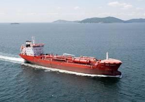 MV Duxgit Integrity: Photo credit Stena Oil