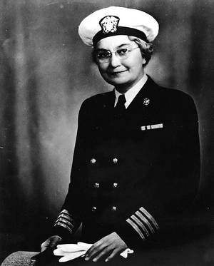 Captain Sue S. Dauser (Official U.S. Navy Photograph, now in the collections of the National Archives.)
