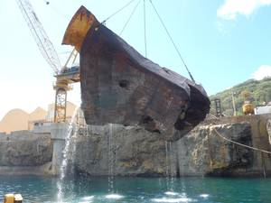 TITANs successful salvage of the Tycoon off Christmas Island, Australia