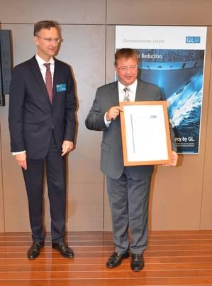 GL Certificate Presentation: Photo credit GL