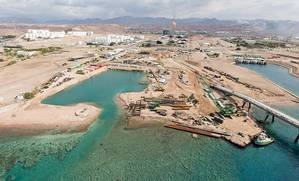 The Aqaba New Liquefied Natural Gas (LNG) Terminal by BAM International. Pic by Aqaba Development Corporation (ADC).
