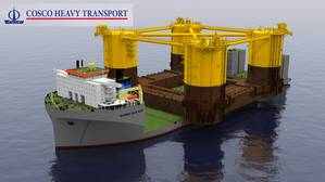The Appomattox semi-submersible offshore platform hull will be transported from South Korea to Ingleside, Texas