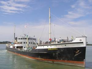 Steamship Shieldhall: Photo credit A&P